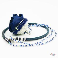 Bejeweled Dark Blue Rose // Necklace For Women // Pendant // Handmade Necklace // Rose Necklace // Leather Necklace // Bracelet For Women Jewelry Accessories, Fashion Accessories, Unique Jewelry, Foot Bracelet, Handmade Necklaces, Handmade Gifts, Rose Necklace, Leather Necklace, Fashion Bracelets
