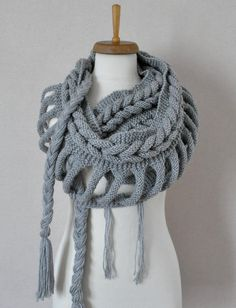 Etsy knitted scarf
