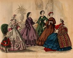 Godey's Lady's Book 1862