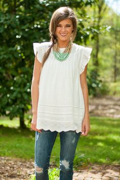 Object Of My Desire Top, White