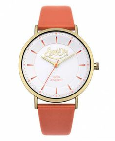 Prezzi e Sconti: #Superdry orologio oxford pastel pop colore Corallo  ad Euro 79.95 in #Superdry #Corallo