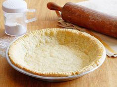 Pie Crust recipe from Alton Brown via Food Network