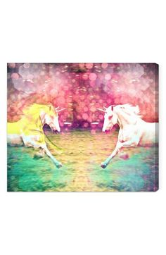 Oliver Gal 'Unicorns Dusk' Wall Art available at #Nordstrom