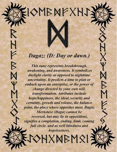 Keeping the Order of the Runes as we know it so far for divination, you will find out, what's your Birthday's Rune is and what does it really mean! Rune Symbols, Symbols And Meanings, Viking Symbols, Norse Runes Meanings, Mayan Symbols, Egyptian Symbols, Chakra Symbole, Ancient Runes, Celtic Runes