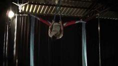 Aerial Silk - Crossback Straddle Variatons | Tecido Acrobático - Variaçõ...