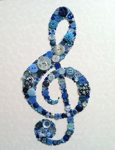 Custom Made Treble Clef Buttons Brads Swarovski Rhinestones Icon Custom Wall Art Music Crafts, Music Decor, Art Music, Music Wall, Jewelry Crafts, Jewelry Art, Geek Jewelry, Gothic Jewelry, Jewelry Bracelets