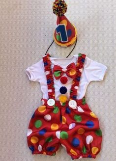 Baby Outfits For Boys Birthday 38 Ideas For 2019 Circus 1st Birthdays, Carnival Birthday Parties, Circus Birthday, 1st Boy Birthday, Birthday Party Themes, Circus Themed Costumes, Circus Theme Party, Baby Costumes, Carnival Themes