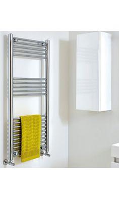 Phoenix Laura Vertical Designer Electric Heated Towel Rail Electric Radiators, Heated Towel Rail, Bathroom Medicine Cabinet, Phoenix, Design