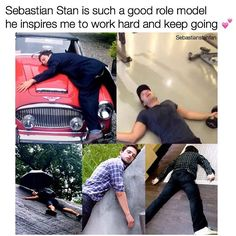Remade from old edit with more glorious examples of how Sebastian continues to…