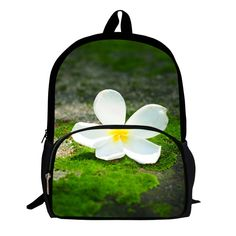 Hot Sale Popular 16 Inches Printing Flowers cute Children School Bags Mens Bag for Women Pack Girls Backpack for Boys Pocket