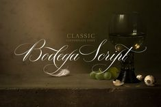 Ad: Bodega Script Elegant Wedding Font by vatesdesign on I wanted to create a font, that is just bloody elegant. So I made Bodega Script, sort of classic decorative copperplate script with a modern Design Typography, Typography Fonts, Hand Lettering, Calligraphy Fonts, Typography Inspiration, Caligraphy, Handwritten Fonts, Script Fonts, Journal Inspiration