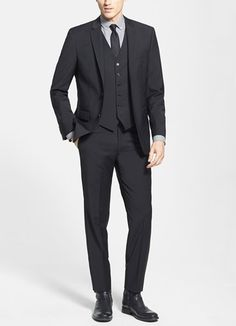 Sophisticated fashion for men | John Varvatos wool blazer & trousers