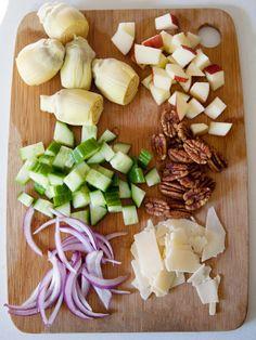 The artichoke salad