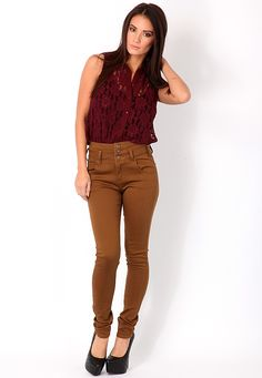 Gabina High Waisted Skinny Jeans