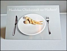 Tisch und Bett von Art-MG auf DaWanda.com Plates, Tableware, Paper Mill, Invitations, Bed, Table, Wedding, Licence Plates, Dishes
