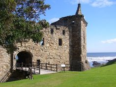 May 2019 - St Andrews Castle is the ruins of the castle of the Archbishops of St Andrews, dating in part from the century. On a headland to the north of St Andrews stand the ruins of the city's castle, the. Andrew Castle, Fife Scotland, England Ireland, Scottish Castles, Beautiful Sites, St Andrews, Edinburgh, Trip Advisor, Things To Do