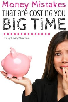 Are you guilty of any of these?  I was! Money Habits That Are Costing You Big Time