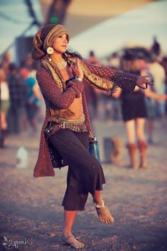 dance gypsy lady