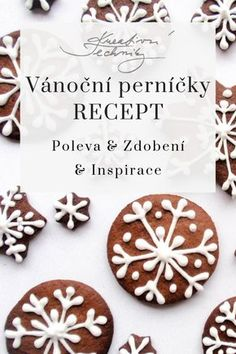 Christmas Baking, Gingerbread Cookies, Food And Drink, Pavlova, Favorite Recipes, Sweets, Biscotti, Cooking, Desserts