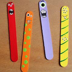 Popsicle Stick Monster Men