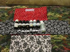 Missy's Homemaking Adventures: Essential oil bag tutorial