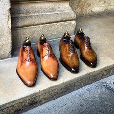 Altan Bottier Artisans Bottiers à Paris Slip On Shoes, Men's Shoes, Shoe Boots, Dress Shoes, Shoes Men, Men Dress, Leather Skin, Leather Shoes, Derby