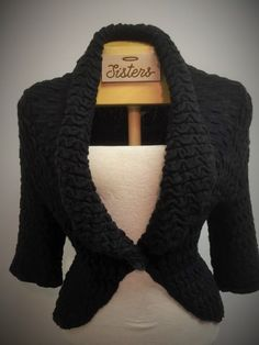 fitted knit cardigan (medium)