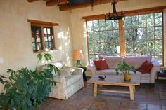 Upscale renovation of Old Hollywood style bungalow with guest house,Taos New Mexico