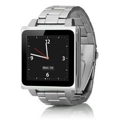 Gifts for guys — HEX Vision Metal Watchband For iPod Nano