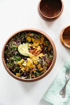Recipe: Upside-Down Taco Bowl — Flip the Bowl | The Kitchn
