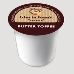 K-CUP GJ BUTTER TOFFEE (Pkg of 5)