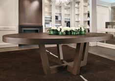 Mesa moderna / de madera / ovalada CASTAGNA CUCINE