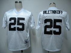 Mitchell and Ness Oakland Raiders 25 Fred Biletnikoff White Stitched Throwback NFL Jersey:$21 Jerseys Nfl, Nfl Oakland Raiders, White Jersey, Get The Look, My Style, Free Shipping, China, Fashion, Moda