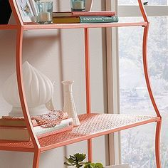 There's nothing we don't love about this bookcase! The shape, the pattern, the color! We know you'll love it too.