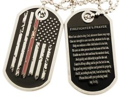 Distressed American Flag Firefighter Maltese Cross Faux Leather Key Ring