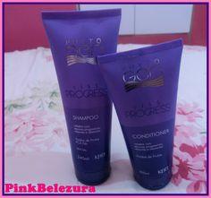 Pinkbelezura: Resenha: Shampoo e Condicionador da Liss Progress ...