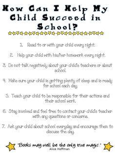 Great idea for parent letters on BTSN.