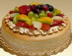 """$23 Meringue fruit torte 10"""" 
