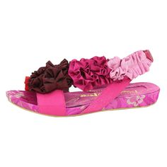 Cocoa trade Flip-Flops Pink Lipstick KissNon-Slip Open Toe Slim Sandals for Youth