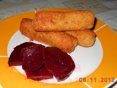 Crochete de cartofi cu salata de sfecla rosie - imagine 1 mare