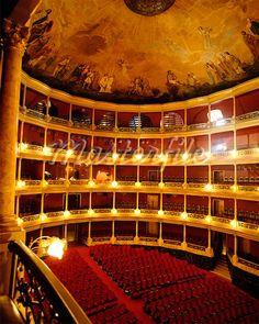 Teatro Degollado [interior], Guadalajara, Jalisco, Mexico
