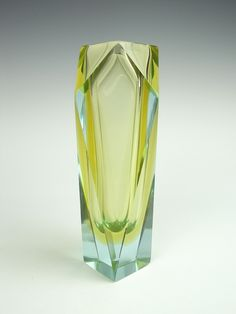 Murano sommerso faceted glass vase by art-of-glass, via Flickr