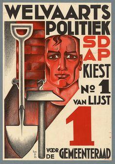 Huib de Ru. Welfare Politics. 1935 by kitchener.lord, via Flickr
