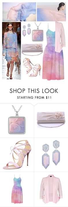 """Gently, gentler"" by jojona-1 ❤ liked on Polyvore featuring Casadei, Kendra Scott and City Chic"