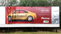 Outdoor advertisement created by Momm, Brazil for Momm, within the category: Agency Self-Promo. Don't Let, Let It Be, Clever Advertising, Self Promo, Marketing, Car Insurance, Make It Simple, Behance, Van