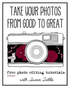 Take Your Photos From Good to Great! #1 :: Pixlr Tutorial