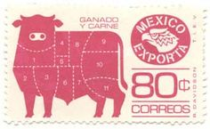 mexican postage stamps