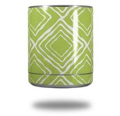 Wavey Sage Green - Decal Style Skin Wrap fits Yeti Rambler Lowball (YETI NOT INCLUDED)