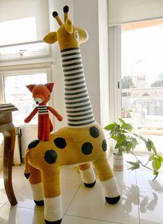 pica-pau: 150 cm de jirafa.