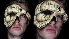 DIY Skull Masquerade Mask Tutorial by Jordan Hanz #HalloweenMakeupIdea #SpecialFX